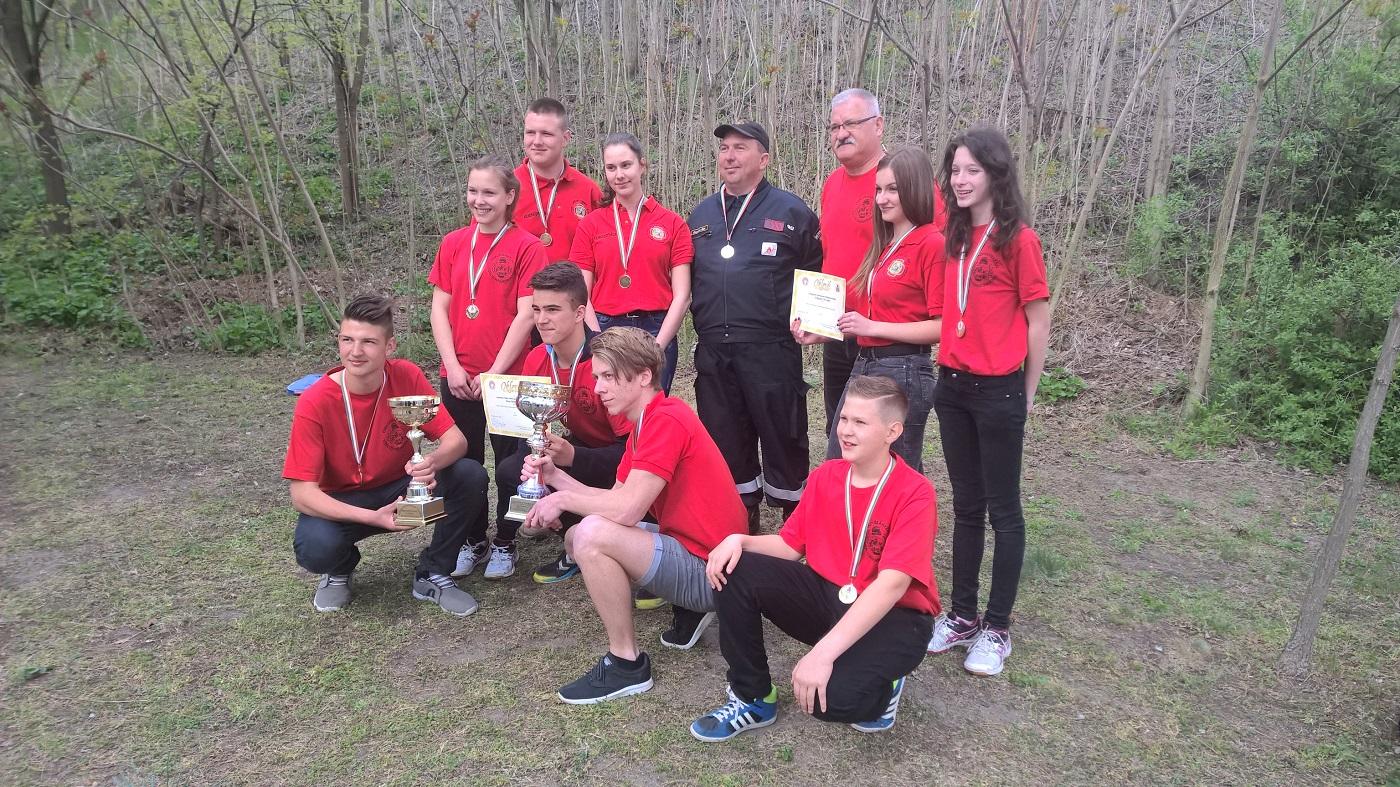 Katasztrófavédelmi Ifjúsági versenyek sikeres sorozata