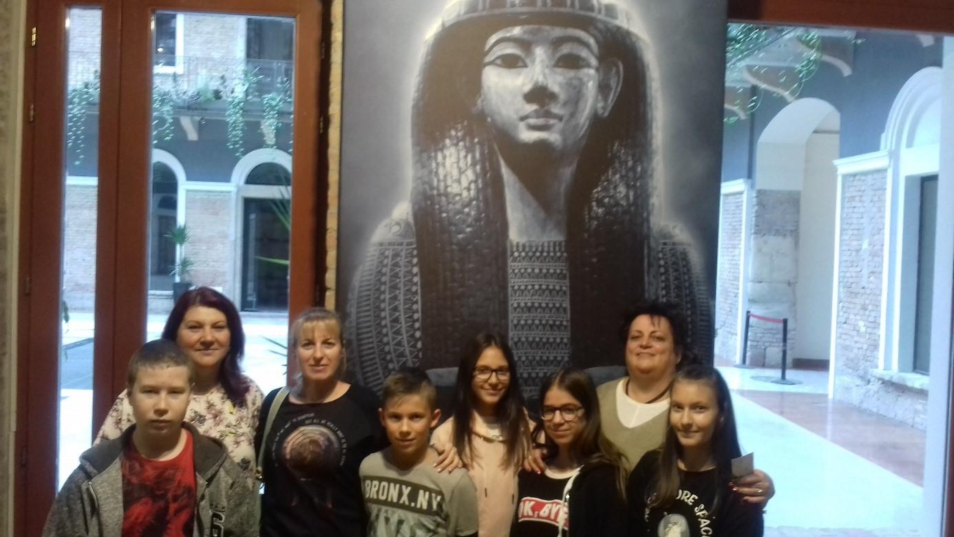 Múmia kiállításon jártunk